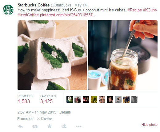 example 2 marketing strategy on twitter