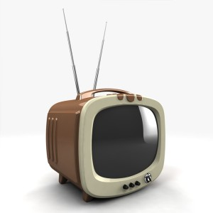 TV advertising took over in the 1950's