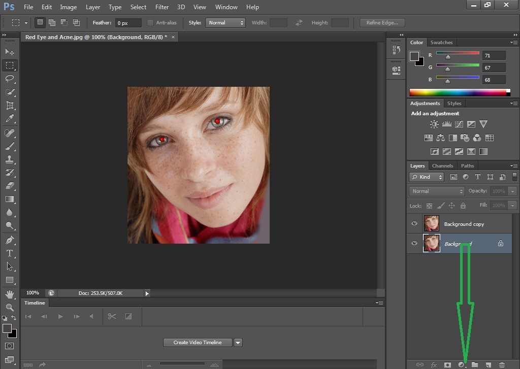 Make a Copy of Layer By Photoshop