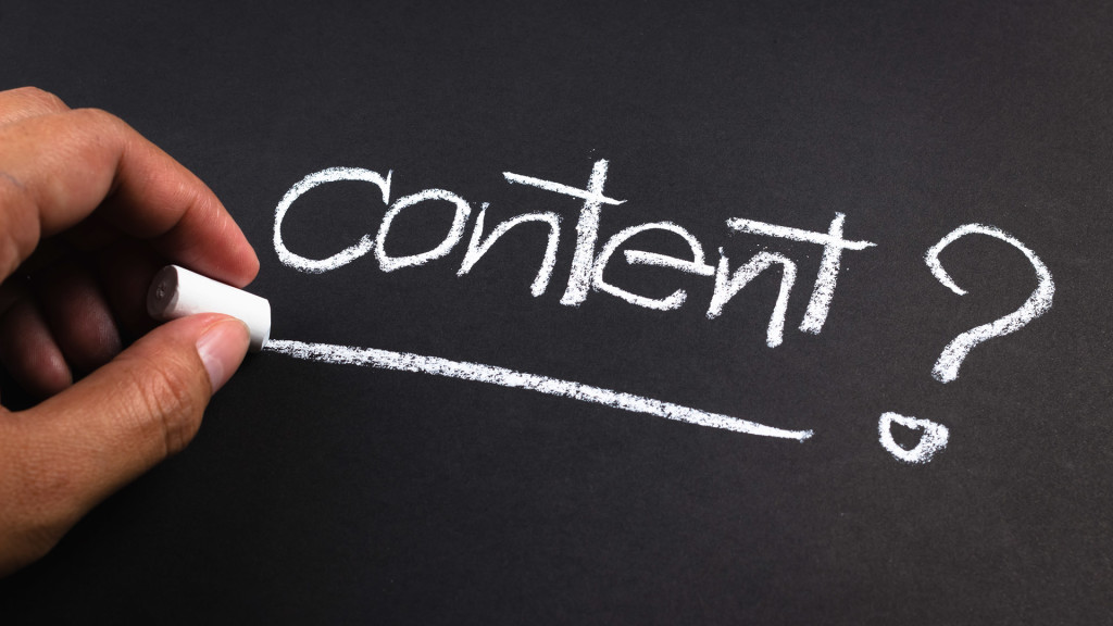 what to write for content marketing?