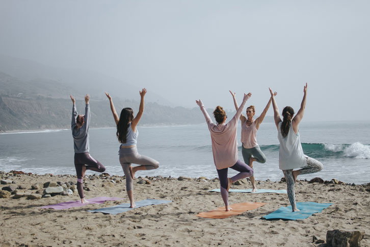 Engage with local community when doing yoga